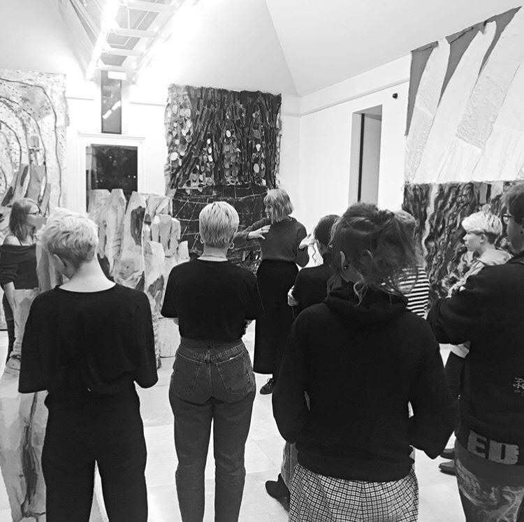 Besøk  og workshop på Trondheim Kunstmuseum