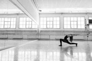 Kristine i dansesal