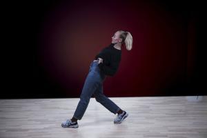 Trine i dansesal